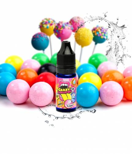 BIG MOUTH CONCENTRATE (CRAZY LOLLIPOPS Nicotine 0%)