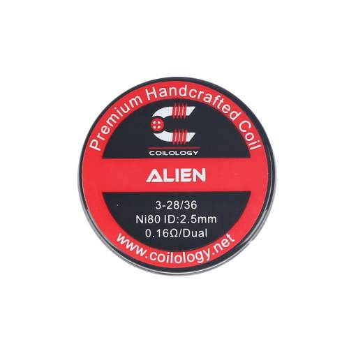COILOGY ALIEN 3-28/36 HANDCRAFTED  COIL